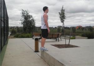 Single Leg Step Up - Finish