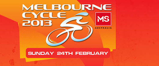 Post image for MS Melbourne Cycle 2013
