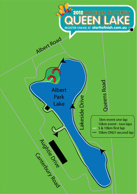 Queen of the Lake Map 2012