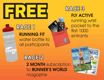 Running Fit Super Sunset Series Entry Pack