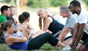 Group Fitness and Corporate Boot Camps