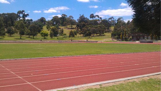Moonee Valley Athletics Track