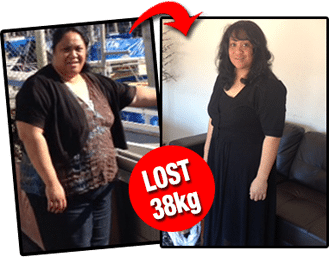 Huge before and after fitness and weight loss transformation of female